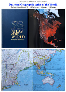 National Geographic Atlas of the World Revised sixth edition 1995