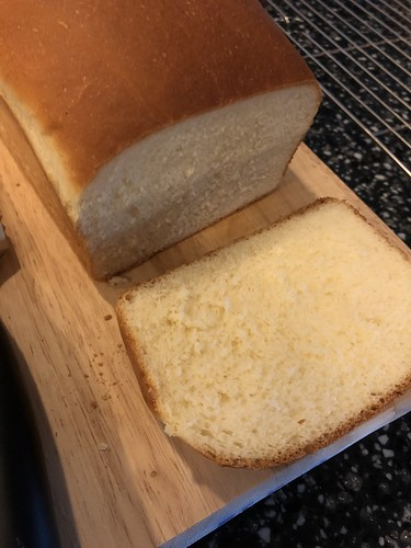 Bread making - milk bread