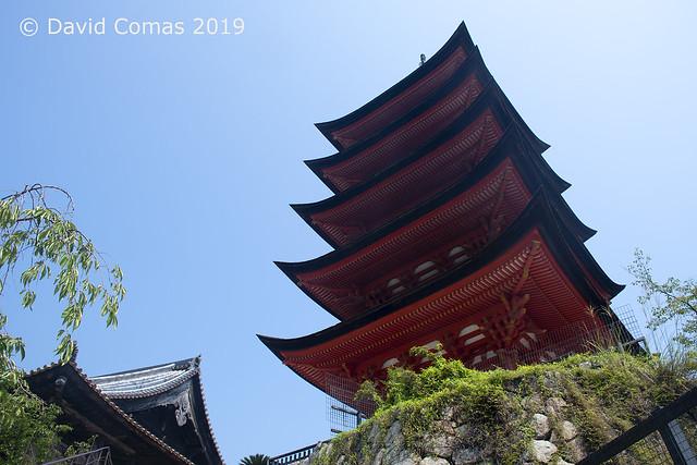 Miyajima - Toyokuni Shrine Five-Story Pagoda