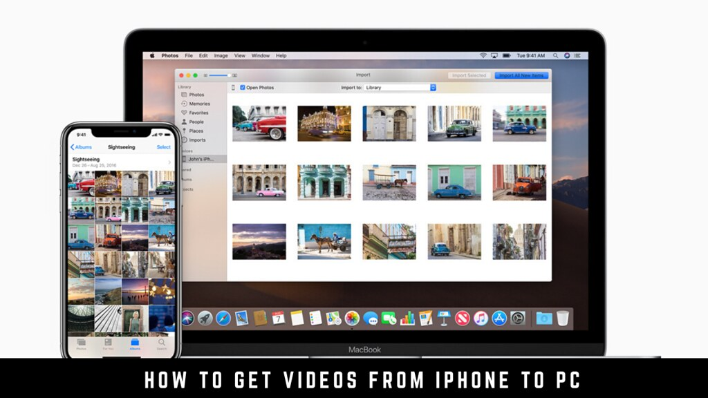 How to get videos from iPhone to PC