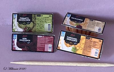Eineksiä - Ready-made meals