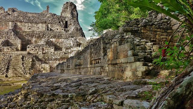 MEXICO, Becán , archäologische Stätte und vormaliges Zentrum der Maya der präklassischen Periode, 19781/12709