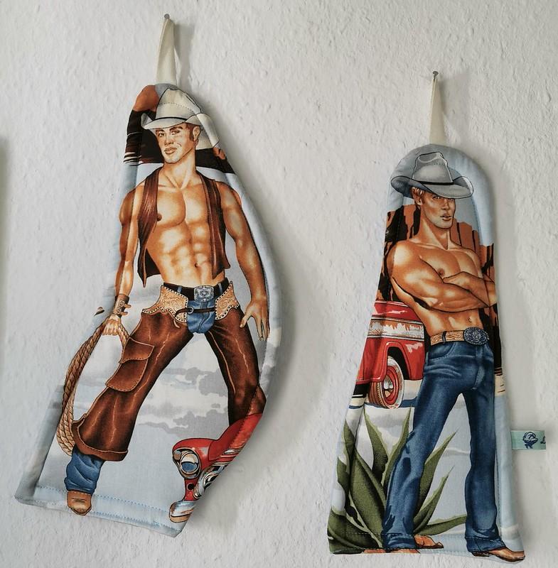 Cowboy Potholders