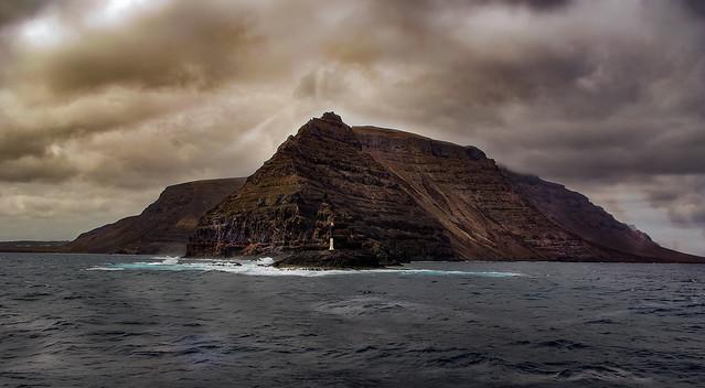 Rumbo a la isla Graciosa Canarias (España)