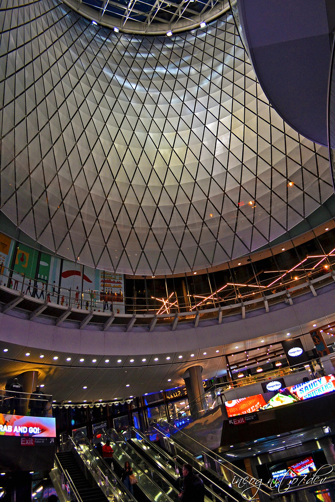 Inside Fulton Center & Station on Fulton Street near WTC Manhattan New York City NY P00543 DSC_1313