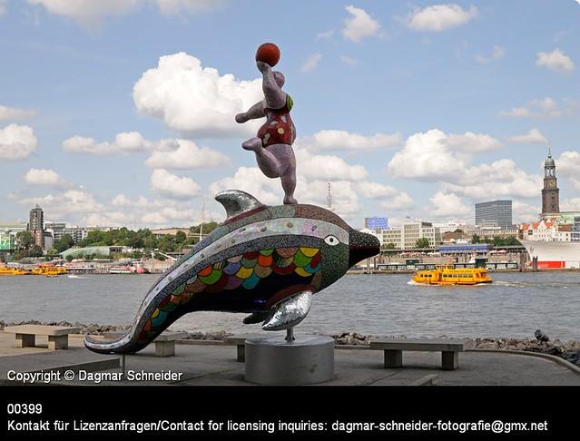 Nana on a dolphin | Nana on a dolphin
