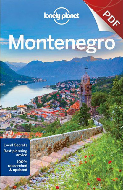Lonely Planet Montenegro Cover Kotor