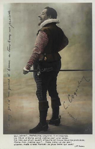 Constant Coquelin Ainé as Cyrano de Bergerac