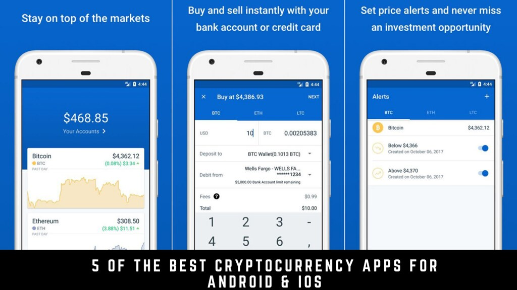 5 Of The Best Cryptocurrency Apps For Android & iOS