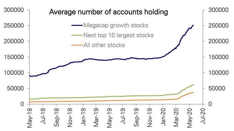Retail investors megacaps