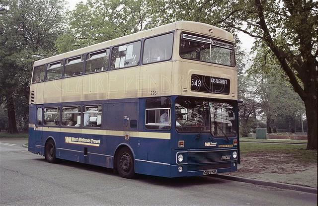 WMT 2261 Castlecroft, Wolverhampton, 1987