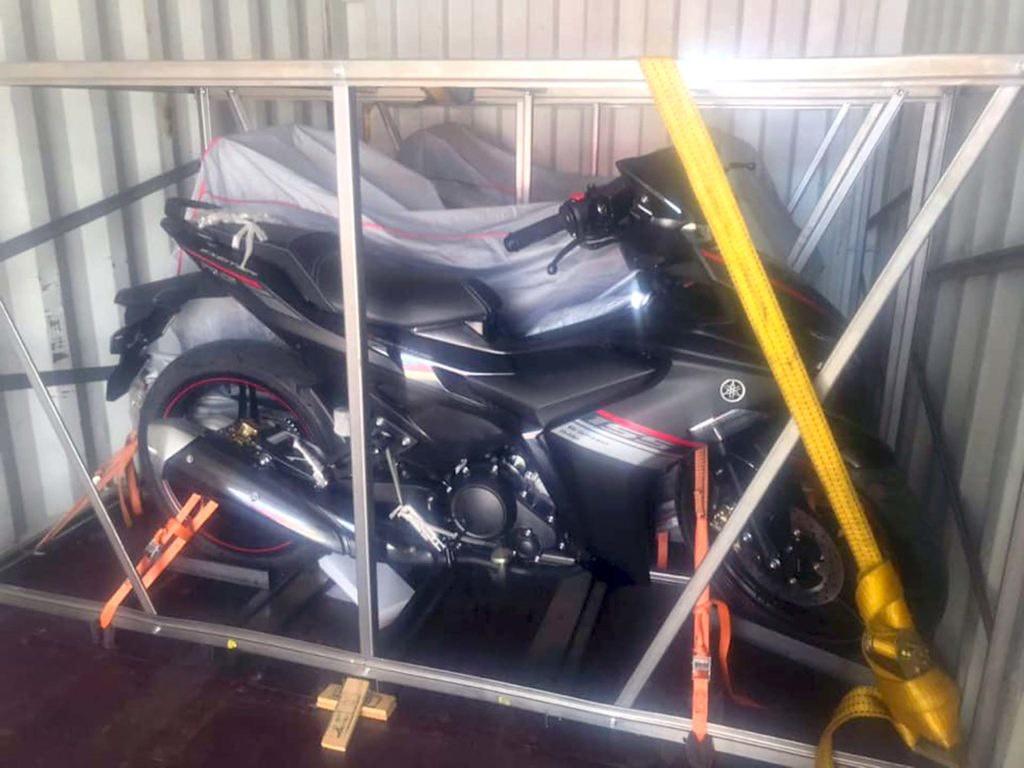 All New Yamaha MX King Spyshot Box