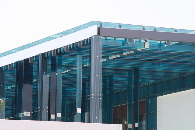 Glass Shade Building Structure