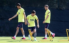 """FC Barcelona trainer acknowledges program weight, but is not in favor of five substitutes: """"Rule is going to harm us"""""""