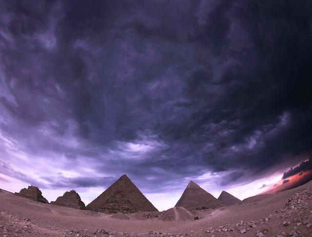 Pyramids of Giza, Egypt  -  February 11th, 2017