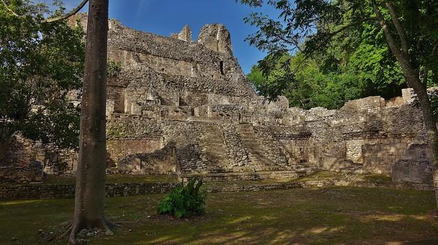 MEXICO, Becán , archäologische Stätte und vormaliges Zentrum der Maya der präklassischen Periode, 19780/12708