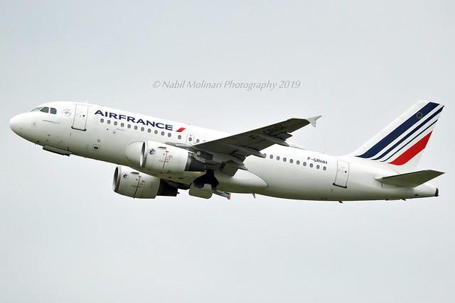 Air France F-GRHH Airbus A319-111 cn/1151 @ LFPG / CDG 06-05-2019