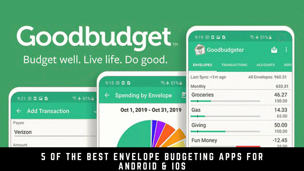 5 Of The Best Envelope Budgeting Apps For Android & iOS