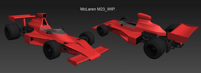 AMS2 McLaren M23
