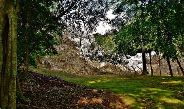 MEXICO, Becán , archäologische Stätte und vormaliges Zentrum der Maya der präklassischen Periode, 19779/12707