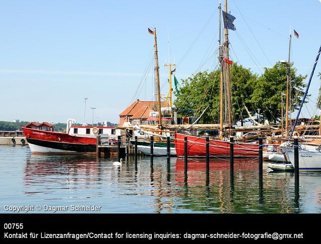 Hafen von Laboe   Port of Laboe