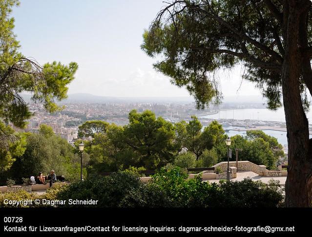 Blick über die Bucht von Palma | View over the bay of Palma