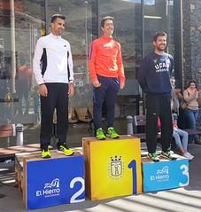 Podium Campeonato de España de 50 km