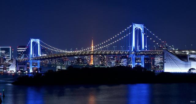 レインボーブリッジ Rainbow bridge