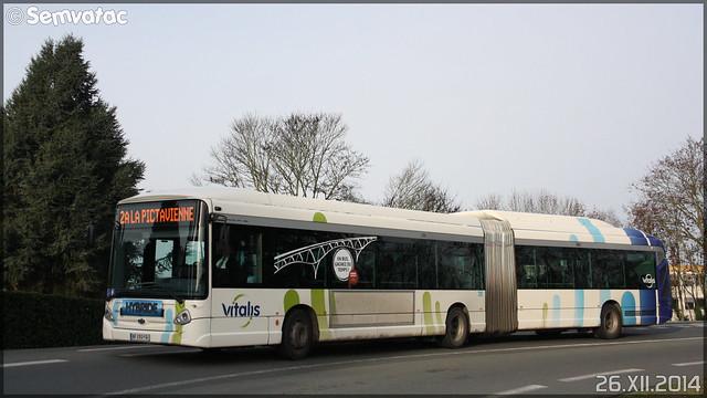 Heuliez Bus GX 427 hybride – RTP (Régie des Transports Poitevins) / Vitalis n°701