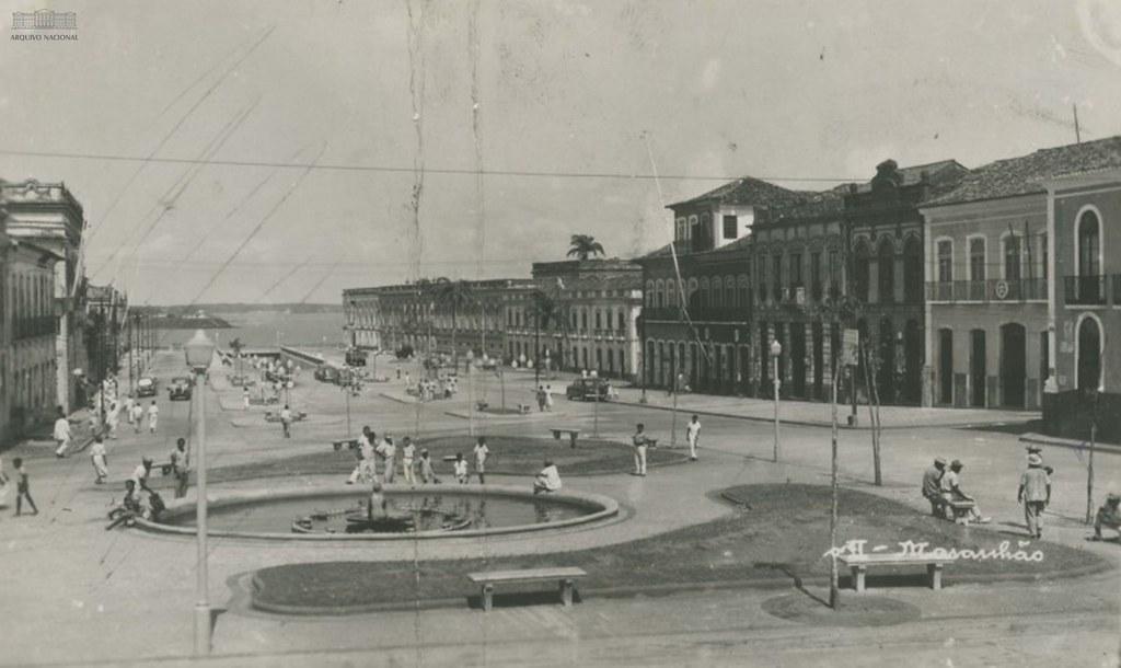 Praça Dom Pedro II, São Luís (MA), 1959