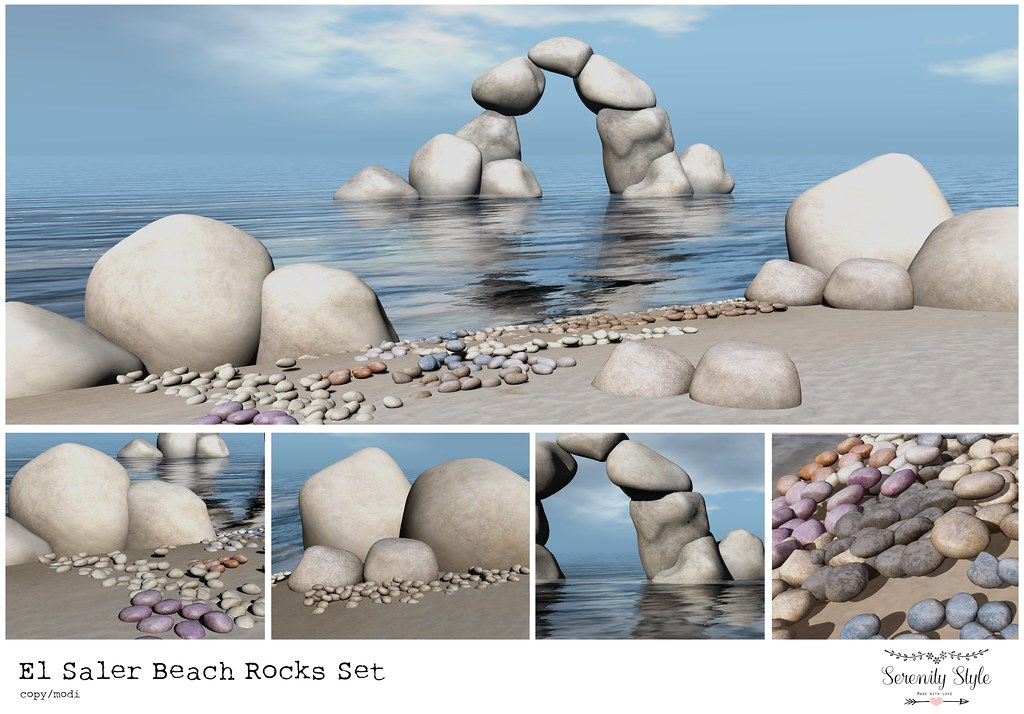 Serenity Style- El Saler Beach Rocks Set ad