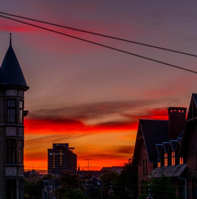 Evening Sky - Aftenhimmel, Saturday - lørdag