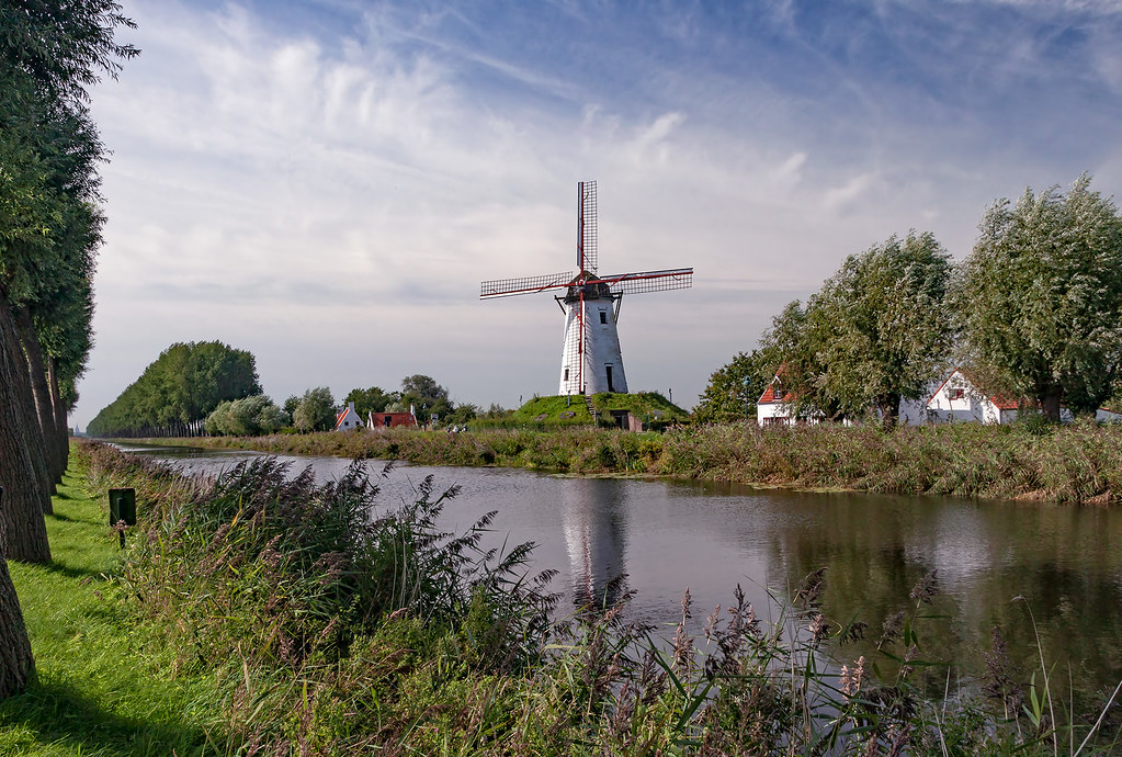 the most famous windmill from Belgium