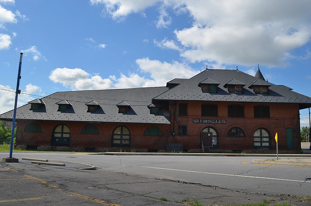 Central Railroad of New Jersey freight depot 2