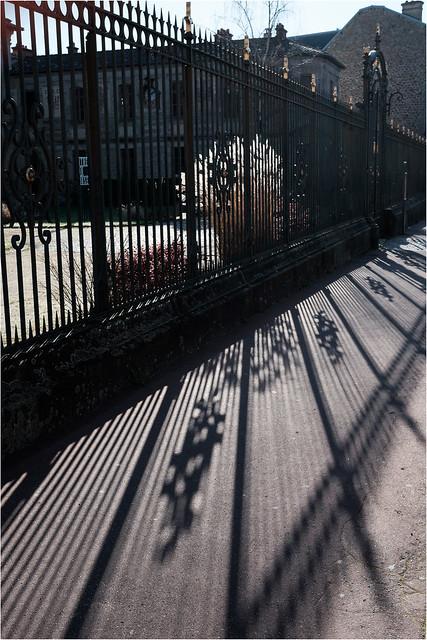 La grille du musée - museum gate