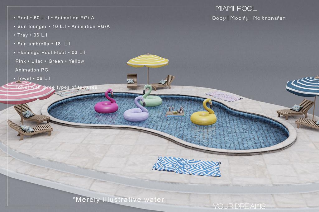 {YD} Miami  Pool