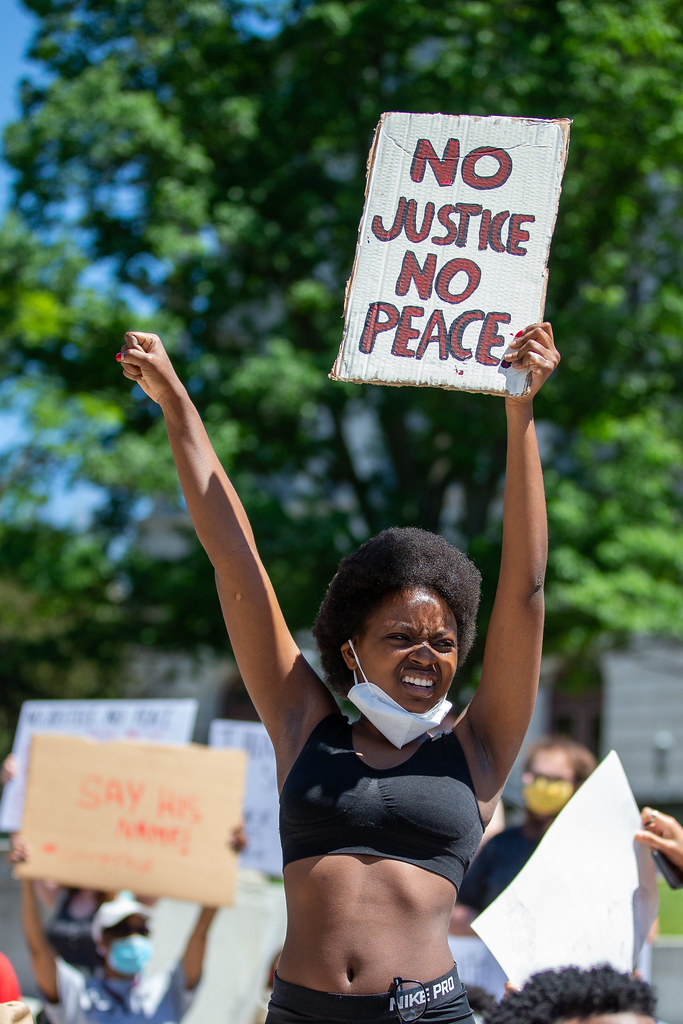 George Floyd protest in Harrisburg, PA