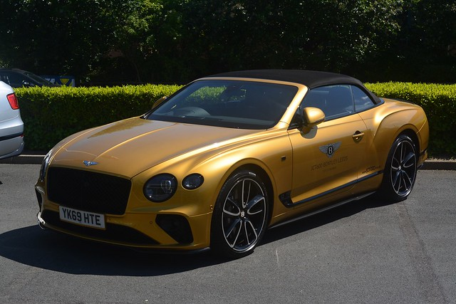 Bentley Continental GT 6.0 W12 Convertible First Edition