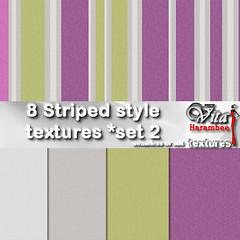 8 Striped style FP set2