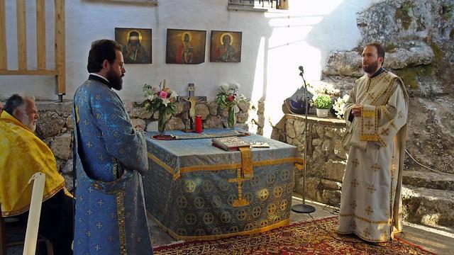 Πανηγυρικός εσπερινός στο Μοναστήρι των Αγίων Πατέρων