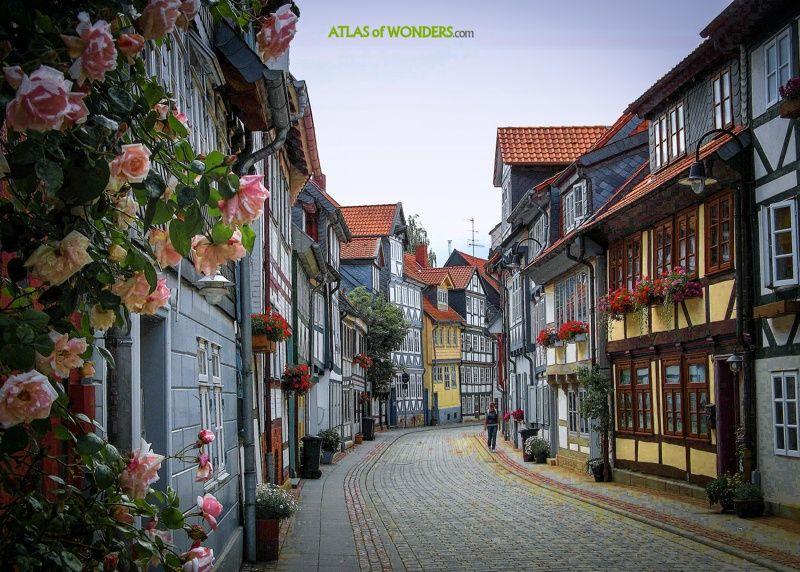 Wolfenbüttel no dañada segunda guerra mundial