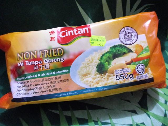 CINTAN non-fried noodles
