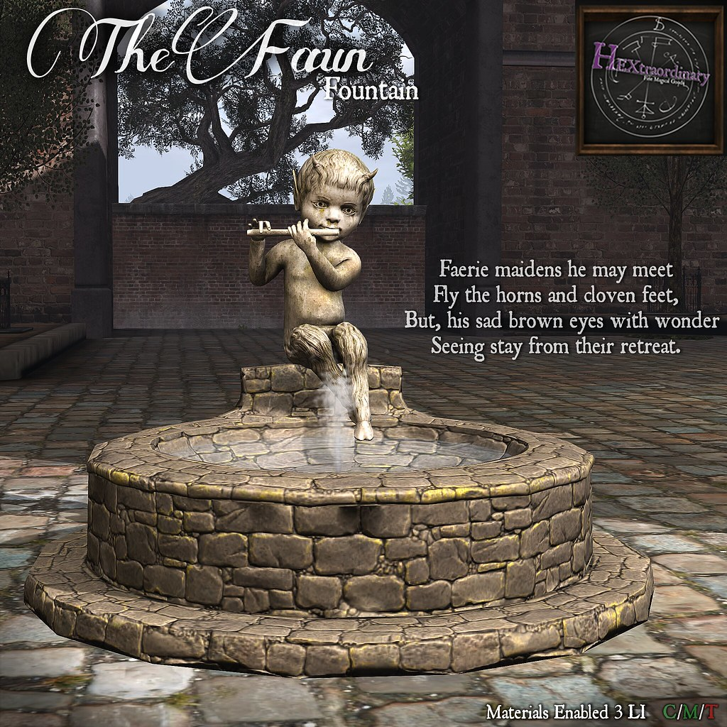 HEXtraordinary – The Faun Fountain – Wanderlust Weekend, 50L