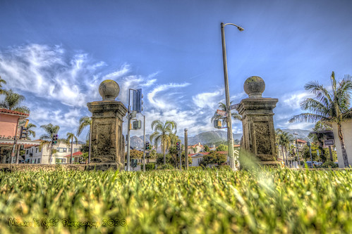santabarbara santabarbaracountycourthouse grass sky california