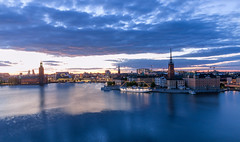 From day to night - Stockholm city 23.10 pm  (由  Maria_Globetrotter