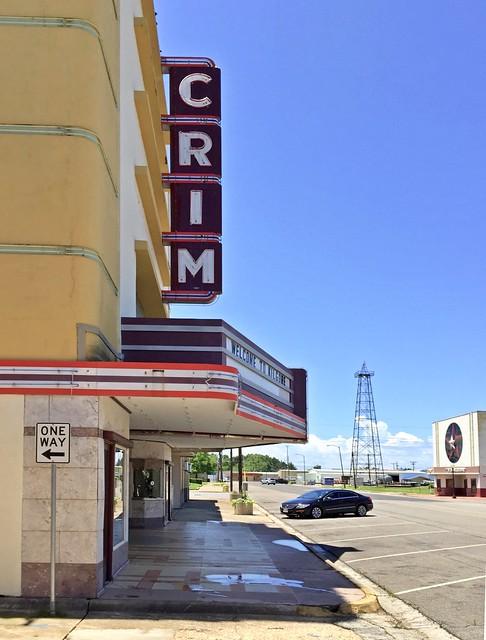 The Crim and Texan Theaters - Kilgore, Texas