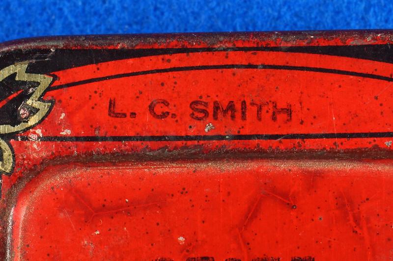 RD29478 Rare State of Minnesota Typewriter Ribbon Tin L.C. Smith DSC06433
