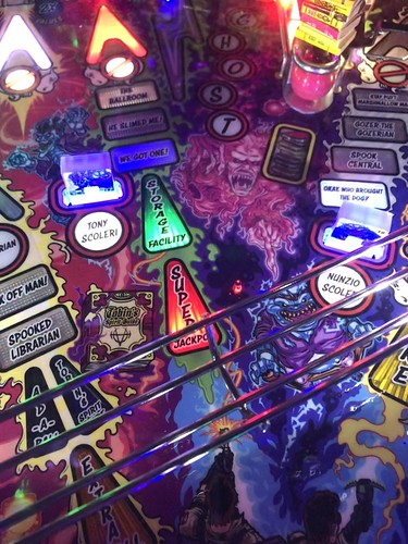 Stern Ghost Busters Pinball