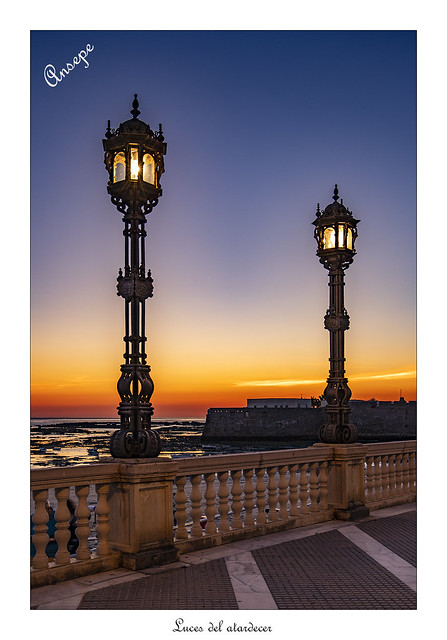 Luces del atardecer