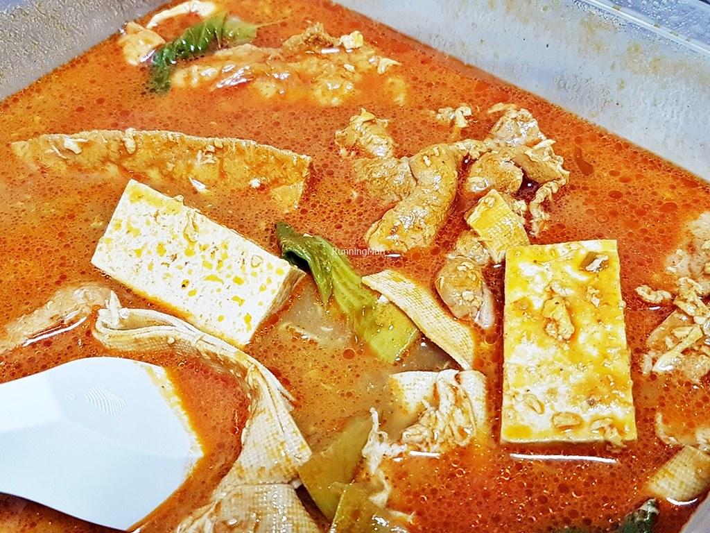 Mala Soup With Egg
